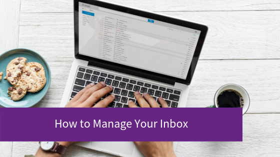 How to manage your Inbox blog