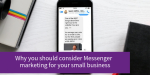Blog about Facebook Messenger marketing